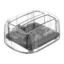 [6239U3] DOCKSTATION TRANSPARENT 2 EMPLACEMENT HDD USB 3.0 OPTION CLONAGE HDD